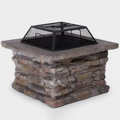 Noble House Corporal Square Fire Pit