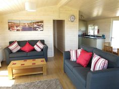 Stay in a luxury Lodge (brand new for 2013) at Highlands End holiday Park