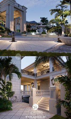 Adorable wonderful design video Decoration Interior Design Companies, Best Interior Design, Garden Landscape Design, Garden Landscaping, Palace, Architecture Design, Mansion Designs, Style Royal, Companies In Dubai