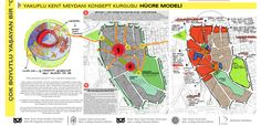 konsept paftası HÜCRE Urban Design Plan, Landscape Architecture Design, Urban Planning, Projects To Try, Workshop, How To Plan, City, Illustration, Arches