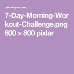 Skinny Ms, Workout Challenge, Challenges, Day, Fitness Challenges