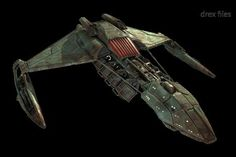 Klingon deuterium tanker - Star Trek: Enterprise