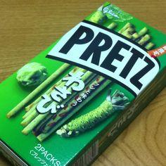わさびプリッツ wasabi pretz