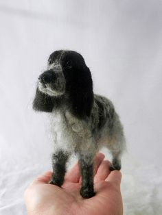 needle felted cocker spaniel -harry | Flickr - Photo Sharing!