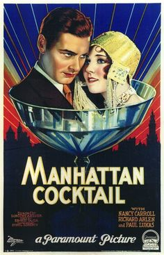 sisterwolf:  Manhattan Cocktail, 1928  This is such a gorgeous poster I had to reblog it!