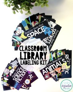 Give your classroom library a makeover with this classroom library labeling kit. Includes over 20 labels: 56 genre labels/topic labels, DRA leveling labels, Guided Reading leveling labels. Every basket label has a matching book label that can be printed on mailing label stickers and attached to the inside cover of your books. You classroom library will be amazingly organized.