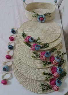 Rope Crafts Crafts To Make Hobbies And Crafts Diy Coasters Handmade Decorations Handmade Crafts Fall Home Decor Diy Home Decor Basket Weaving Crafts To Make, Arts And Crafts, Diy Crafts, Handmade Decorations, Handmade Crafts, Fall Home Decor, Diy Home Decor, Jute Crafts, Crochet Decoration