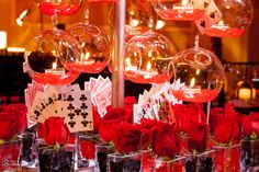 Casino Night Bar Mitzvah! #barmitzvah #decor #alwaysflowers #alwaysflowersmiami