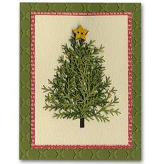 Holiday Card 52 Pine Bough Tree