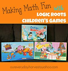 Making Math Fun with Logic Roots Children's Games | Our Everyday Harvest - Family Blog, Reviews, Giveaways, Frugal Tips, Recipes...