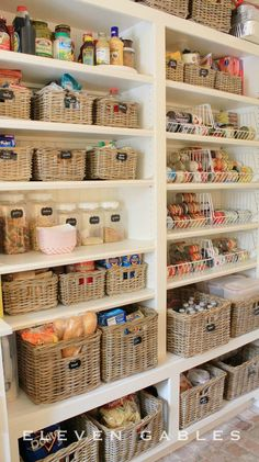 Wouldn't a tidy pantry be a dream come true? Take note from these 15 Kitchen Organization Ideas for inspiration on how to clean up everything from your food storage to the look of your cooking area!