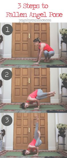 Pin now, practice fallen angel pose later!  Wearing: Onzie pants c/o, sweaty betty tank.: