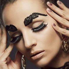 Make up by Magda casqueiro. Photo by Paulo Simões. At Luz crescente studio