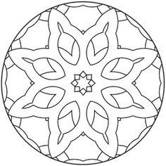 Mandala symétrie #mandala #mandalas #coloriage