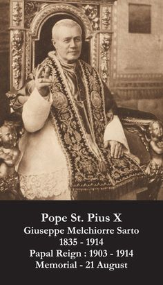 New Pope Catholic Holy Cards - Catholic Prayer Cards - St Therese of Lisieux - St. Joseph - Our Lady of Guadalupe - Sacred Heart of Jesus - John Paul the Great - Support Missionary work Catholic Catechism, Catholic Art, Catholic Saints, Roman Catholic, Pope Of Rome, Pope Pius X, Cure, Religious Studies, Church History