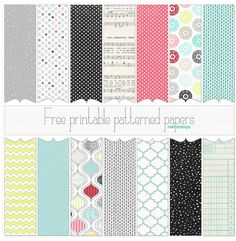Where to Find Free Digital Scrapbook Paper! {Free Digital Scrapbooking Series- Part 3!}