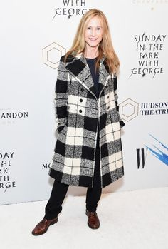 Holly Hunter Photos Photos - Actress Holly Hunter attends 'Sunday In The Park With George' Broadway opening night at The Hudson Theatre on February 23, 2017 in New York City. - 'Sunday in the Park With George' Broad Way Opening Night - Arrivals & Curtain Call