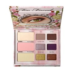 Too Faced Romantic Eyeshadow Palette $36 : Nine romantic shades that will win your heart (and his, or hers). They're just the thing for a brunch with friends or the bride's big day. Warning: has been known to induce spontaneous Vegas nuptials.
