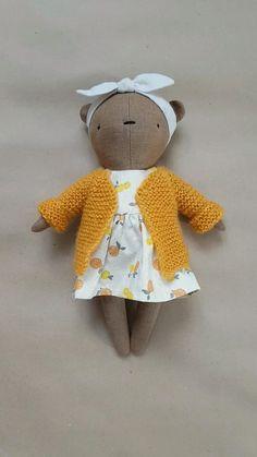 Toddler Toys, Baby Toys, Kids Toys, Tiny Dolls, Soft Dolls, Fabric Dolls, Fabric Toys Diy, Tilda Toy, Barbie Dolls Diy