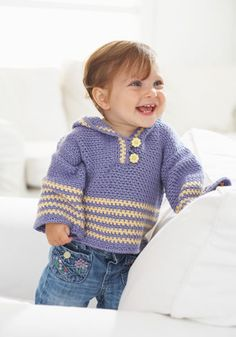"Free pattern for this cute ""On the Trail Hoodie Pullover""!"