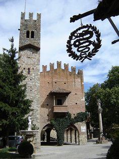 Borgo di Grazzano Visconti - Piacenza, province of Piacenza , Emilia Romagna region, Italy .