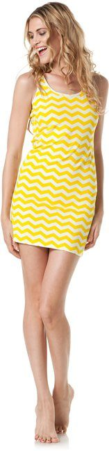 i love this zig zag print. would be a cute beach dress