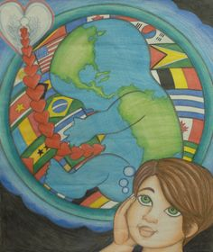 Merit Award Winner Guilherme Augusto R. de Moura from Brazil: Lions Clubs International 2012-2013 Peace Poster Contest