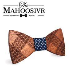 New design Wood Bow Ties