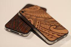 Funda de madera para el iPhone