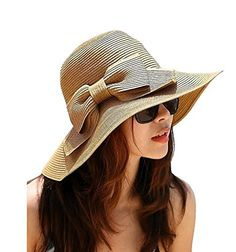 77277c54a1c Summer hats for women straw hat beach hats for women sun hats wide brim  floppy