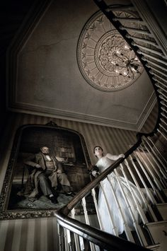 The Stair Case at The Boars Head Ripley Castle