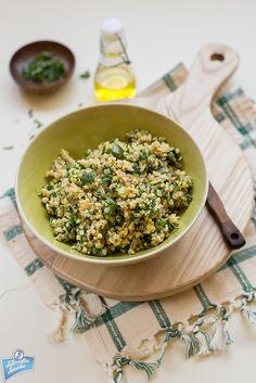 Bulgur Pilaf with Zucchini/Pilaw z bulguru z cukinią