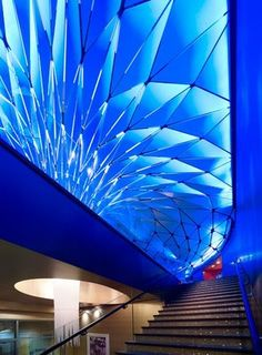 The Conga Room by Belzberg Architects, Los Angeles..Awesome Lighting (both color & the geometric design)
