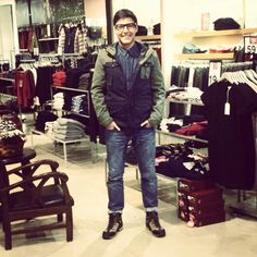 #men #fashion #jacket #shoes