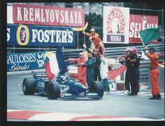 MONACO GP 1996 #9 LIGIER MUGEN HONDA GALOUISES OLIVIER PANIS WIN F1 PHOTOGRAPH