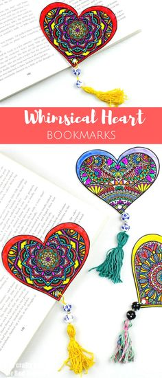 Stunning Printable Valentine's Bookmark Designs – print and colour these gorgeous Whimsical Heart Bookmarks and give them to a loved one this Valentine's Day (or even Mother's Day). Love how pretty and easy it is to make these gorgeous Valentine's Bookmarks! Have fun with colouring and learn how to make these cute and easy bead …