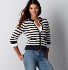 Love'n the stripes for Spring :)