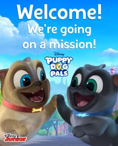 Join Us For A FRiYAY Puppy Dog Pals Party