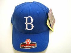 MLB American Needle Brooklyn Dodgers Deconstructed Cap with Clasp by American Needle. $19.99. One size fits most - adjustable back. Cooperstown Collection. Royal blue with adustable clasped back. Genuine American Needle, Since 1918