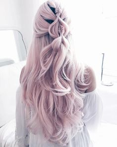 Jul 2019 - Check out our 40 best ideas (Definitive Guide) how to style a pull through braids that less boring and start to create your eye-cathing braids! Cute Hair Colors, Beautiful Hair Color, Hair Dye Colors, Cool Hair Color, Hair Colour, Winter Hairstyles, Pretty Hairstyles, Braided Hairstyles, Hairstyle Ideas