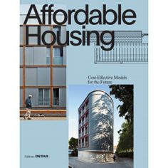 Affordable Housing - Urban Planning & Housing - reference books Construction Cost, Summer Special, Detailed Drawings, Affordable Housing, Urban Planning, Floor Plans, How To Plan, City, Books