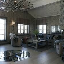 Bilderesultat for lekker hytte Home Remodeling, Conference Room, Cabin, Couch, Curtains, Rustic, Living Room, Interior, Furniture
