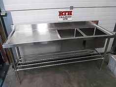 Sink-Unit-RTH-Double-Bowl-Stainless-Steel-Single-LH-Drainer-1800mm-400-V