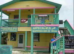 Aunt  Ebby's ice cream!!! St. George Island Florida!