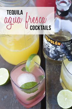 The Cocktail Diaries: Agua Fresca Tequila Cocktails  PDXfoodlove