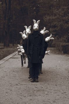 A look at the entire series of Bunnyland Photos by Alena Belijakova in which the young Russian photographer combined the creepy and the cute.