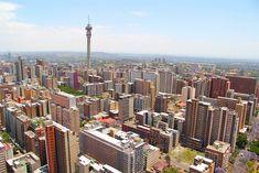 Johannesburg's urban skyline