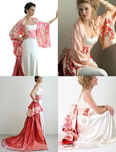 Love this, I can see it working on formal dresses too! A great idea for my kimono collection!