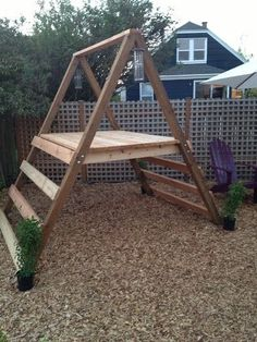 A-frame playhouse for the kids! Came out great!: