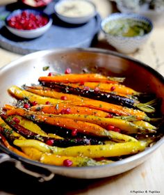 Oriental-style carrots - My WordPress Website Quinoa Lunch Recipes, Vegetarian Lunch, Raw Food Recipes, Cooking Recipes, Healthy Recipes, Vegetable Side Dishes, Vegetable Recipes, Crockpot Recipes, Chicken Recipes